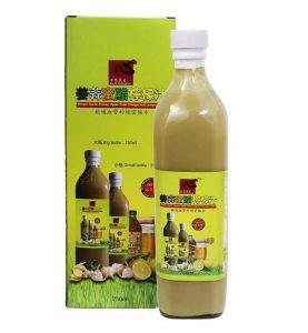 Xin Si Ginger Garlic Honey Vinegar and Lemonade Juice
