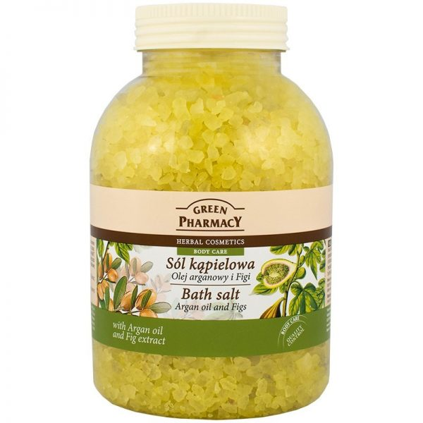 Green Pharmacy Bath Salt Argon Oil & Figs