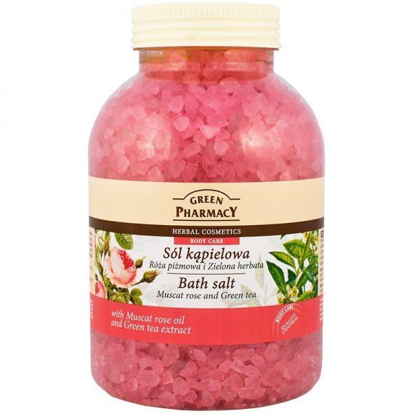 Green Pharmacy Bath Salt Muscat Rose & Green Tea