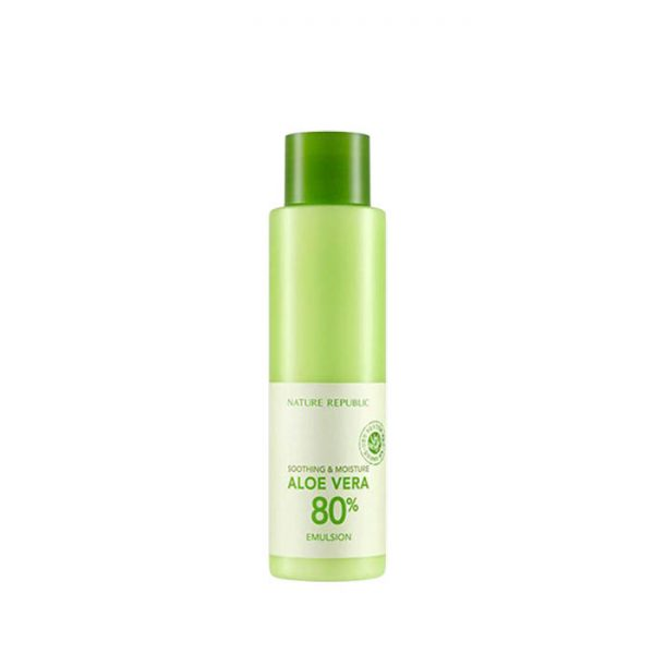 NATURE REPUBLIC Soothing And Moisture Aloe Vea 80% Emulsion