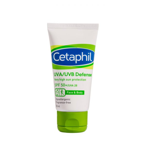 CETAPHIL UVA UVB Defense SPF50+ Face & Body